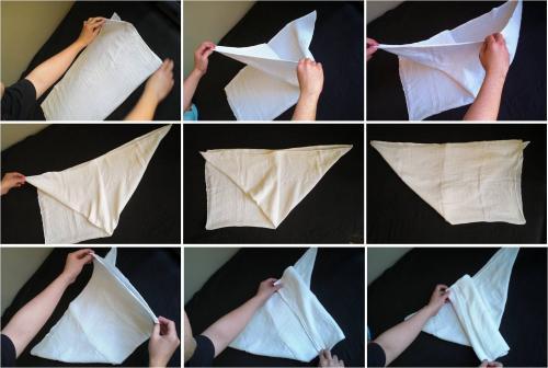 popok kain origami