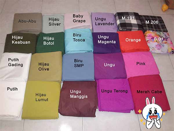 Sprei Waterproof murah dan terbaru : 16 – 20 April 2015