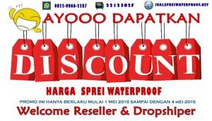 Promo harga sprei waterproof